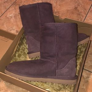UGG Shoes - Dark Purple Ugg Boots